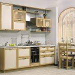 Удобная кухня.