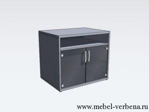Тумба-для-оргтехники-со-стеклом-770-680-600