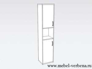 Шкаф-для-книг02-левый-420-1975-365