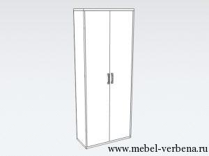 Шкаф-для-одежды011-770-1975-365