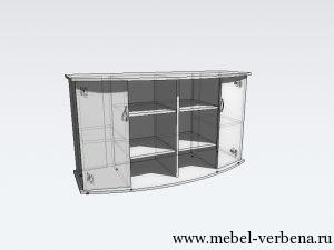 Тумба Аква Классик Панорама-1300-730-500