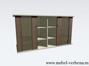 Тумба-Аква-Классик-дв.со-стеклом-1500-800-550